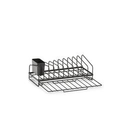 Neuetischkultur Trockenständer Geschirrabtropfständer Schwarz 17.5 cm x 13.5 cm