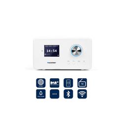 Blaupunkt IRD 300 WH Digitalradio (DAB) (Internetradio, Internetradio, Internetradio, 2 W, Internetradio DAB+ mit Weckfunktion) weiß