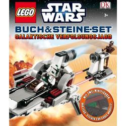 LEGO® Star Wars? Buch & Steine-Set Galaktische Verfolgungsjagd