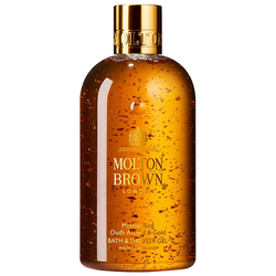 Molton Brown Limited Edition Mesmerising Oudh Accord & Gold Bath & Shower Gel Duschgel 300ml