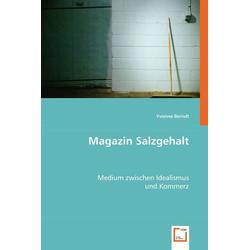 Magazin Salzgehalt als Buch von Yvonne Berndt