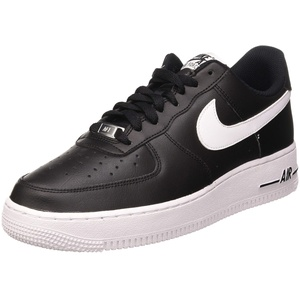 Nike Herren Air Force 1 '07 An20 Basketballschuh, Black/White, 41 EU