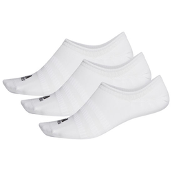 Sneaker-Socken adidas, weiß, Gr. 43 - 45 - 43 - 45 - weiß