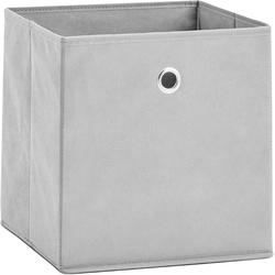 Zeller Present Aufbewahrungsbox, (Set, 2 St.), faltbar und schnell verstaut grau Körbe Boxen Regal- Ordnungssysteme Küche Ordnung Aufbewahrungsbox
