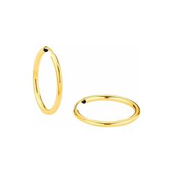 Creole für Damen, Gold 375 amor Gold