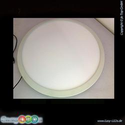 LED Panel Einbau-Designleuchte rund 60cm 48 Watt weiß