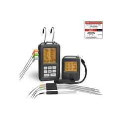 BURNHARD Gasgrill Funk Grillthermometer, Digital Braten-Thermometer