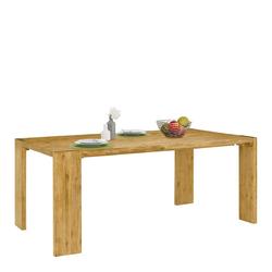 Vollholztisch aus Akazie Massivholz 75 cm hoch