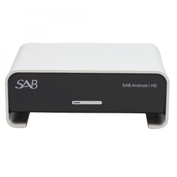SAB Android I HD S908 HDTV Sat Receiver Weiss