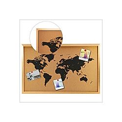 Pinwand Weltkarte Format ca. 38 x 58 cm