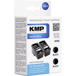 KMP KMP Tintenpatronen 2er-Pack H25D Schwarz 1023,4021 Tintenpatrone