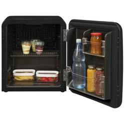 exquisit RKB05-14 A+ sw Minikühlschrank Kühlbox Retro