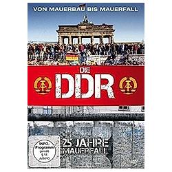 Die DDR - Von Mauerbau bis Mauerfall - DVD  Filme