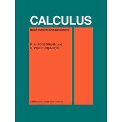 Calculus als Taschenbuch von R. A. Rosenbaum/ G. P. Johnson/ Rosenbaum R. a.