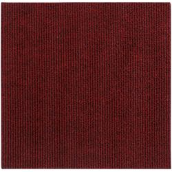ANDIAMO Teppichfliese Rippe Nadelfilz, 16 Stück (4 m²), selbstklebend rot 16 Stk.
