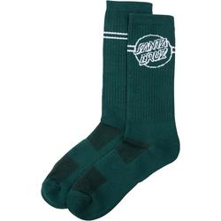 Socken SANTA CRUZ - Opus Dot Stripe Sock Evergreen (EVERGREEN)