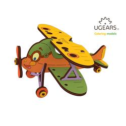 UGEARS 3D-Puzzle UGEARS Holz 3D-Puzzle Modellbausatz DOPPELDECKER, 23 Puzzleteile