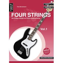 www.four-strings.de als Buch von Tom Bornemann