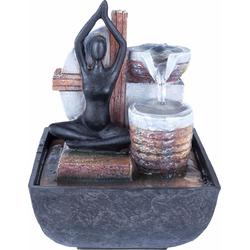 Brunnen »Yoga«, Dekoratives, 74681819-0 braun braun