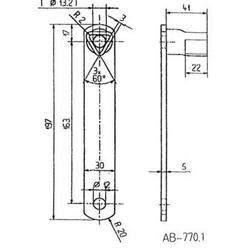 Dreikantschlüssel 17mm