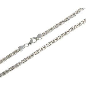 Silberkettenstore Silberkette Königskette 3mm, 925 Silber von 40-120cm wählbar silberfarben 40cm