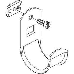 Niedax Kabelhalter H 50