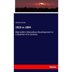 1919 vs 1894 als Buch von Charles Kerler