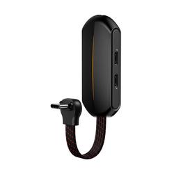 Baseus Baseus GAMO L49 Adapter RGB Controller Gamepad mit USB TYP-C - 2x USB-C + AUX mini Jack 3.5mm für Smartphones Smartphone-Adapter