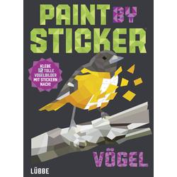 Paint by Sticker Vögel als Buch von