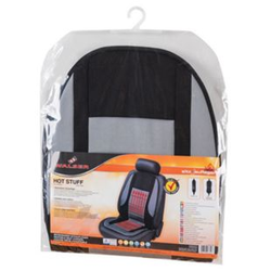 Autositz Heizkissen Sitzheizung Hot Stuff schwarz/grau