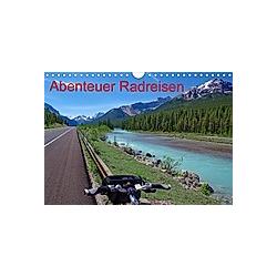 Abenteuer Radreisen (Wandkalender 2021 DIN A4 quer) - Kalender