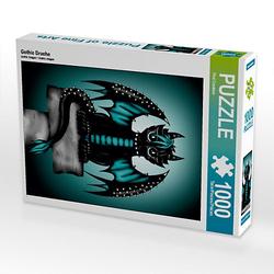 Gothic Drache Lege-Größe 48 x 64 cm Foto-Puzzle Bild von Pezi Creation Puzzle