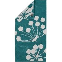 CAWÖ Cottage Floral 386 Duschtuch 70 x 140 cm smaragd
