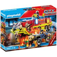 Playmobil City Action Feuerwehreinsatz mit Löschfahrzeug 70557