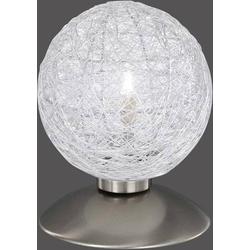 Paul Neuhaus Womble 4794-55 Tischlampe Halogen G9 28W Silber