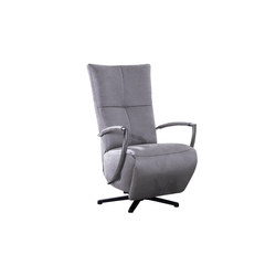 Steinpol PoCo Drehsessel Seat 2 in silver
