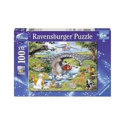 Ravensburger Puzzle Puzzle, 100 Teile XXL, 49x36 cm, Disney Friends, Puzzleteile