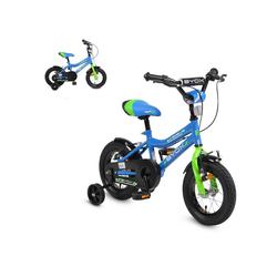 Byox Kinderfahrrad Kinderfahrrad 12 Zoll Racing, 1 Gang 1 Gang, keine, Stützräder Reflektoren Klingel, Metallrahmen