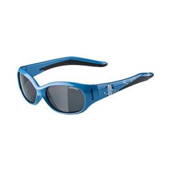 Alpina Sports Sonnenbrille Sonnenbrille Flexxy Kids cyan plane