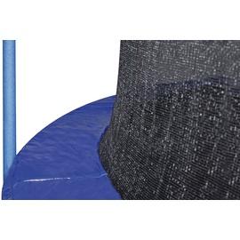 Hudora Trampolin 400 cm inkl. Sicherheitsnetz blau