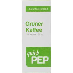 QUICKPEP grüner Kaffee Kapseln 100 St