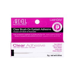 Ardell LashGrip Clear Adhesive Brush-On latexfreier klarer kleber mit pinsel 5 g für Frauen