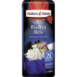 Müllers Mühle Arborio Risotto Reis zartcremig Selection 1000g
