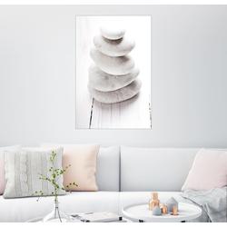 Posterlounge Wandbild, Hot Stone Massage 61 cm x 91 cm