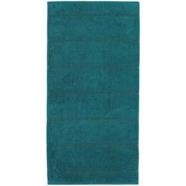 CAWÖ Carat Allover 581 Handtuch 50 x 100 cm smaragd