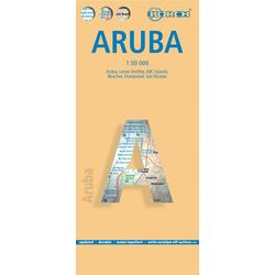 Aruba 1 : 50 000. Road Map + City Maps