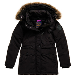 Superdry - Everest Parka W Black - Jacken - Größe: L