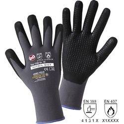 L+D NITRIL DOT 1166 Nylon Arbeitshandschuh Größe (Handschuhe): 11, XXL EN 388 , EN 407 CAT II 1 Pa