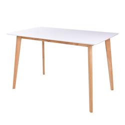 Stół Bignus 120x70 cm na drewnianej podstawą