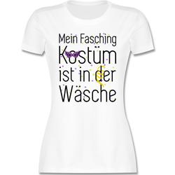 Shirtracer T-Shirt Mein Fasching Kostüm ist in der Wäsche - Karneval & Fasching - Damen Premium T-Shirt - T-Shirts faschings t-shirt damen M